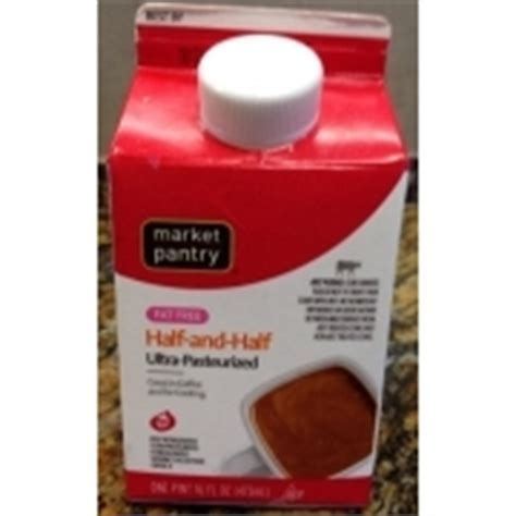 market pantry half and half ultra pasteurized milk