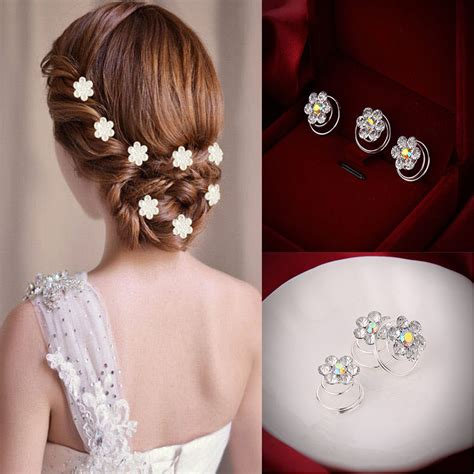 Wedding Hair Accessories Aliexpress by Aliexpress Buy 12 Pcs Delicate The Hair Pins