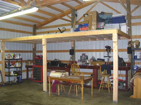 pole barn with loft plans how to frame a loft loft in pole barn general