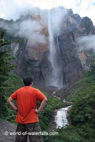 up film waterfall angel falls canaima national park venezuela south america