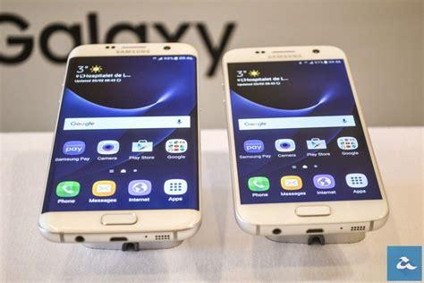 Samsung S7 Biasa Pandang Pertama Galaxy S7 Telefon Terbaik Samsung Yang
