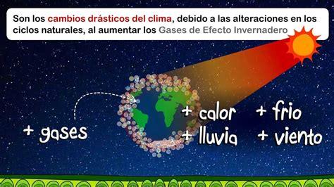 imagenes libres cambio climatico cambio clim 225 tico y efecto invernadero youtube