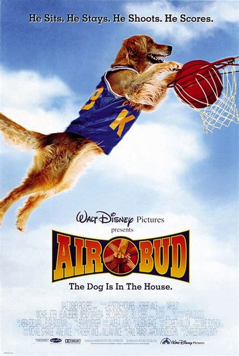 air bud the dog is in the house air bud movie poster imp awards