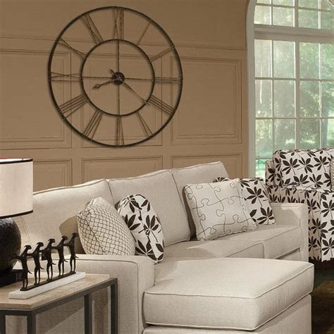 Ideas To Decorate A Large Wall by 25 Ideas For Modern Interior Decorating With Large Wall Clocks