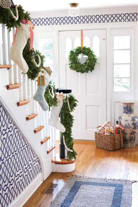 11 christmas house decorating styles 70 pics decor advisor this nashville designing duo decked their home with color