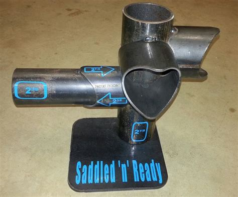 1000 Images About Saddled N Ready Pipe Fence Fittings Patent Pending On Pinterest The Two 2 3 8 Pipe Saddle Template