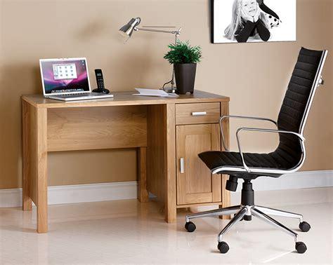 Home Office Desk Oak Oak Effect Home Office Desk