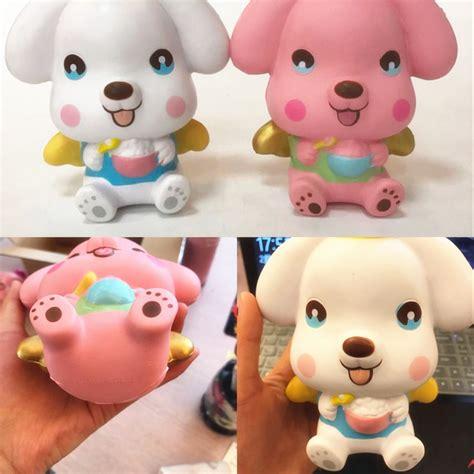 Squishy Leilei Puppy Licensed Original Leilei Squishy Jumbo Puppy 16cm Rising Original
