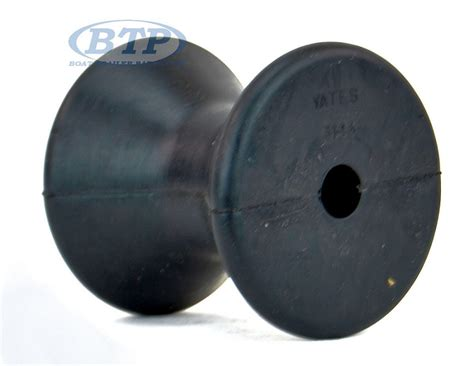 boat trailer bow winch 3 inch rubber bow roller for boat trailer winch stand
