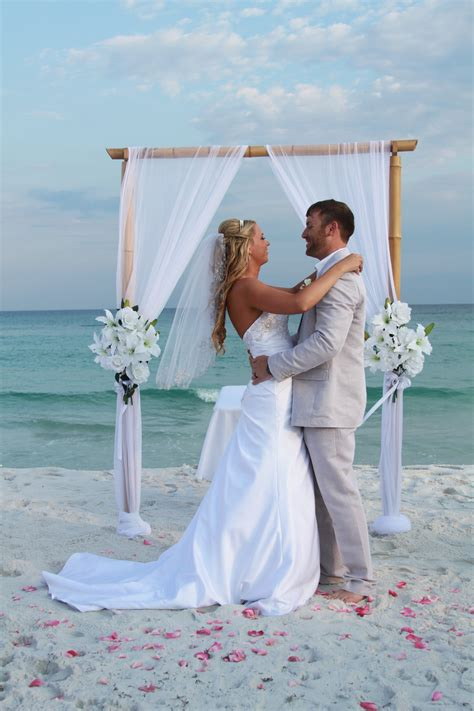 Beach Wedding Packages for Pensacola, Gulf Shores, Destin