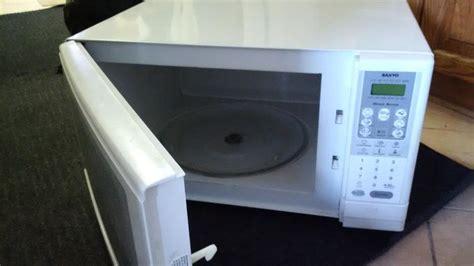 Microwave Sanyo Em sanyo microwave em a5420 nepean ottawa