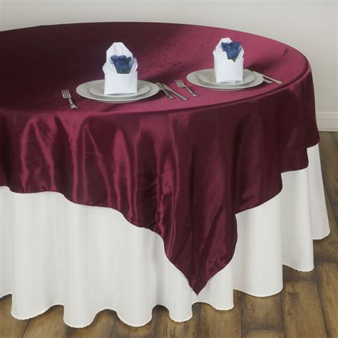 wedding table overlays 20 satin square 72x72 quot table overlays wedding