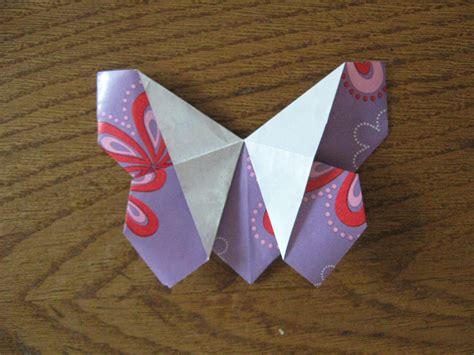 Origami Tutorial - paper crafts easy origami butterfly