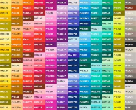 what are pantone colors pantone color chart color charts and pantone color on