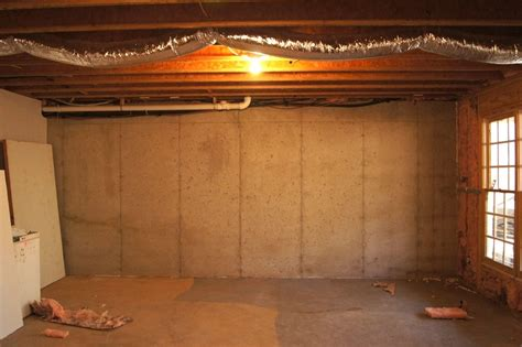 concrete basement walls ideas new basement ideas