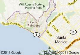 pacific palisades california map foothill fence company serves pacific palisades ca