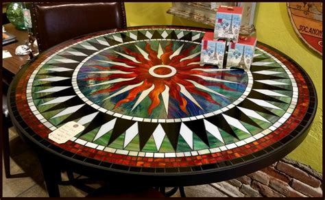mosaic tile kitchen table tile and glass mosaic tables