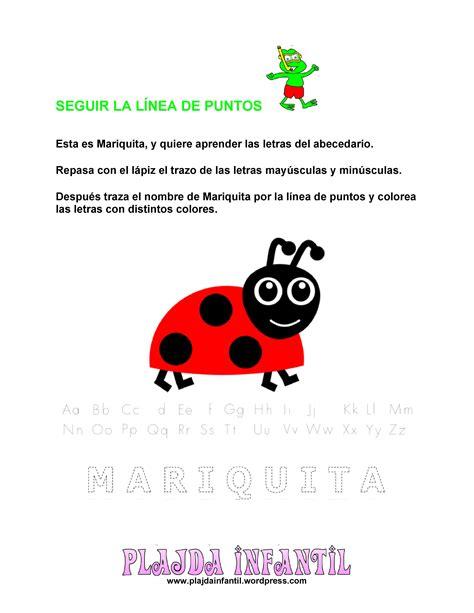 poemas de insectos para ninos el alfabeto de mariquita plagda infantil