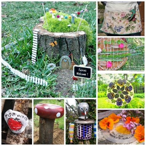 outdoor craft projects the thursday 13 more garden craft ideas grandmother wren