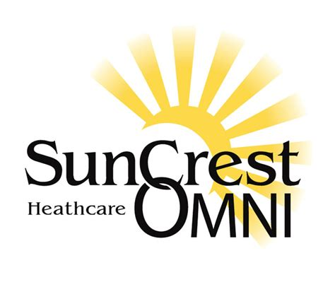 suncrest and omni home healthcare logo merge chris