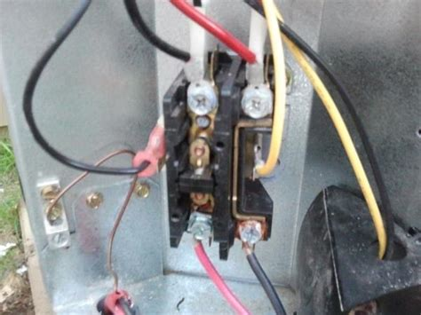outside ac unit fan not turning image gallery hvac contactor relay