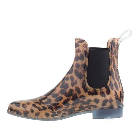 Rains Boot Animal j crew chelsea leopard boots in animal classic