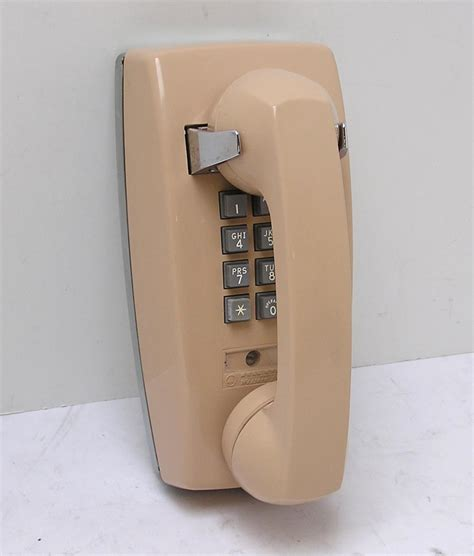Bell Phone vintage western electric bell system wall phone 2554 bmp