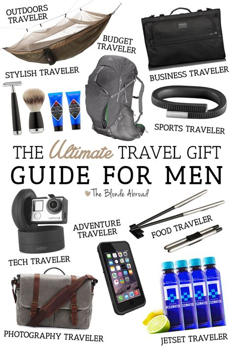 the ultimate travel gift guide for men the blonde abroad