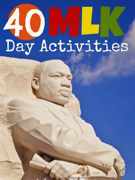 martin luther king day activities mums make lists