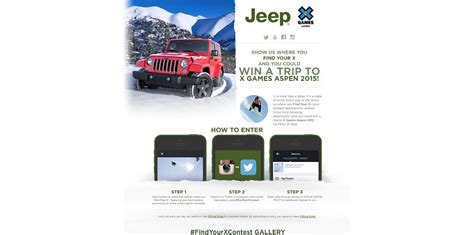 Jeep Sweepstakes 2015 - jeep unlimited sweepstakes 2015 autos post