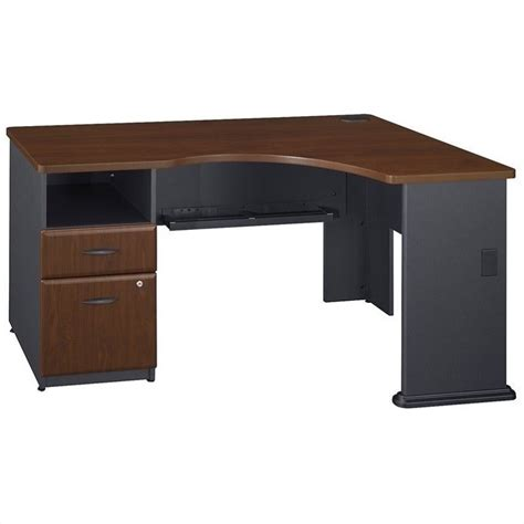 Bush Series A Corner Desk Bush Business Series A Corner Computer Desk In Hansen Cherry Wc94428pa