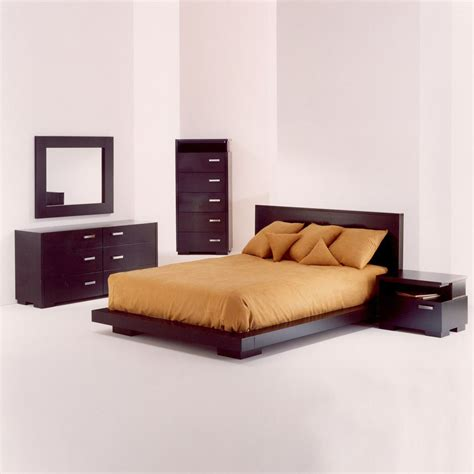 Queen Platform Bedroom Set | paris platform bed bedroom set beaver queen bedroom sets