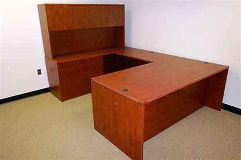 Office Desk U Shape U Shaped Office Desk New Used Desk The Office Manager Inc