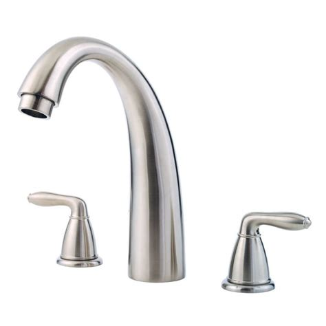 pfister bathtub faucets pfister rt6 5sr roman tub faucet build com