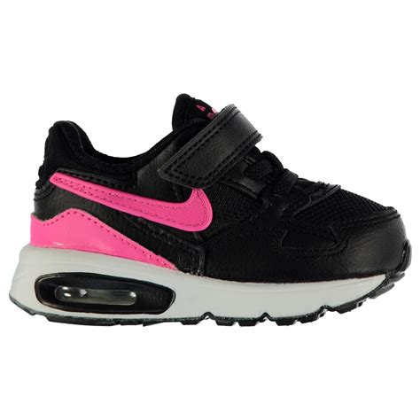 Nike Airmax 907 Black nike air max st trainers infant black pink sneakers