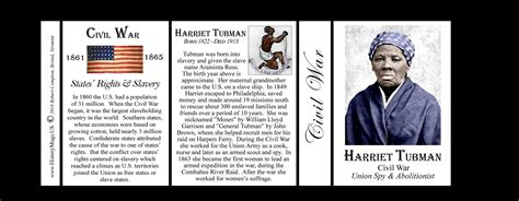 short biography harriet tubman tubman harriet civil war historymugs us