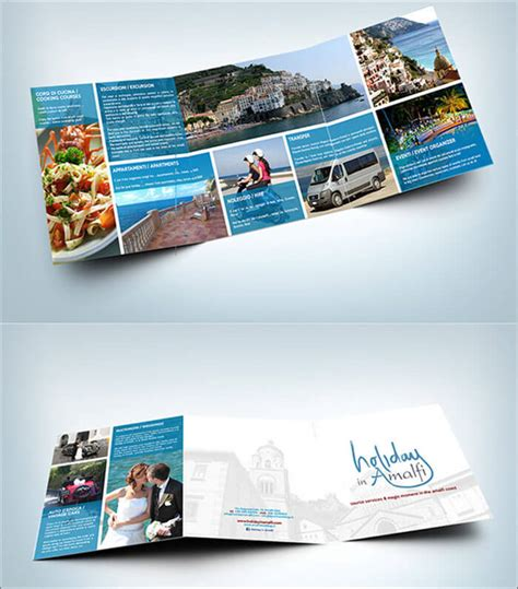 holiday brochure templates free premium templates