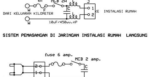 rangkaian kapasitor penghemat listrik rangkaian alat penghemat listrik saling berbagi