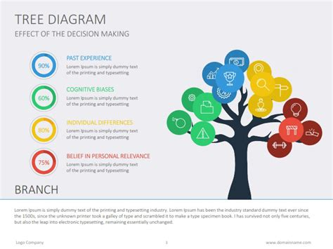 business tree diagram tree diagram flat by slideshop graphicriver
