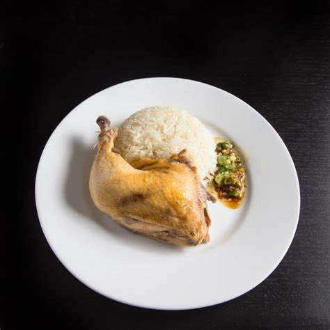 Rice Cooker Kick On hainanese chicken rice in pressure cooker recipe