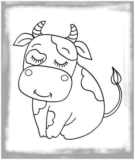 imagenes para colorear vaca las mejores imagenes de la vaca para colorear imagenes