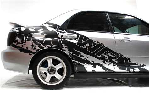 subaru side decal subaru impreza sti wrx splash vinyl decal wrap kit