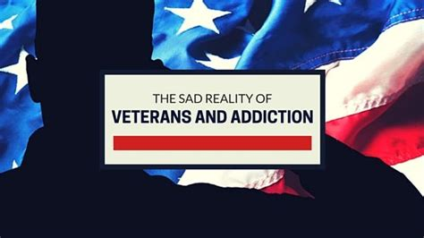 Does The Va Cover Detox by Facing The Sad Reality Of Veterans And Addiction In The Us