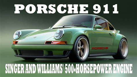 singer porsche williams engine look this the porsche 911 to get singer and