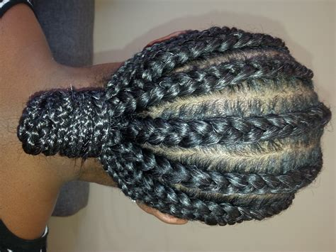 images of cornrows without extensions cornrows with extensions client with gray hair simply