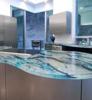 Glass Cement Countertops by 25 Best Glass Countertops Ideas On