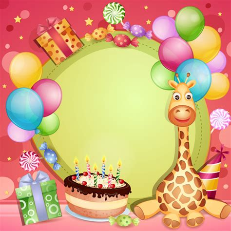 happy birthday design wallpaper cute happy birthday wallpaper free vector download 12 718