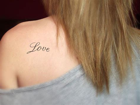 tattoo love on back love tattoos and designs page 35