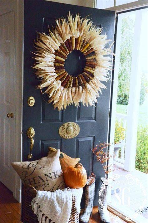 top 28 door decorations for fall 21 diy fall door diy fall door decorations fall outdoor decor diy projects