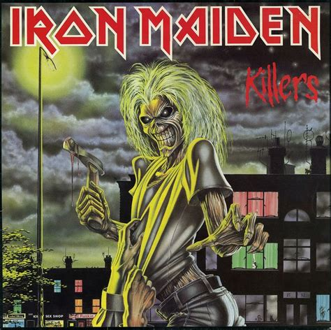 best iron maiden album 40 best iron maiden album covers by derek riggs images on